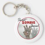 Sweet Zombie Jesus Keychains