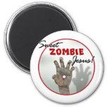 Sweet Zombie Jesus Magnet