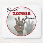Sweet Zombie Jesus Mouse Pad