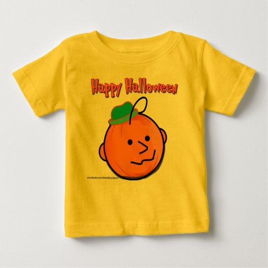 SweetBabyJames Jack O Lantern Baby T-Shirt