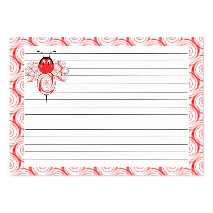 SweetBee Bumble Bee Recipe Card