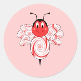 SweetBee manosea al pegatina de la abeja