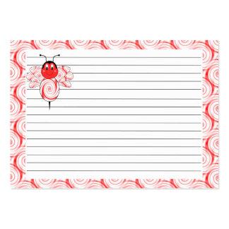 SweetBee manosea la tarjeta de la receta de la abe Tarjeta De Visita