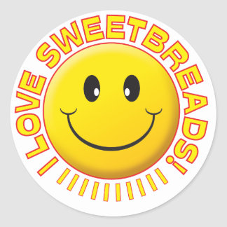 Sweetbreads Smile Stickers