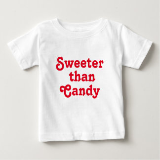Sweeter Than Candy Baby Fine Jersey Shirt