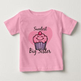 Sweetest Big Sister Tshirts