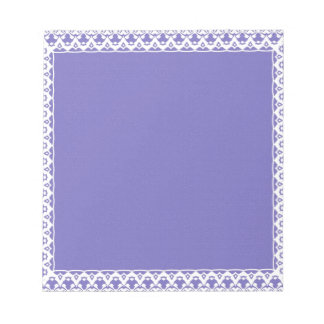 Sweetest BRIDESMAID Purple and White Notepad