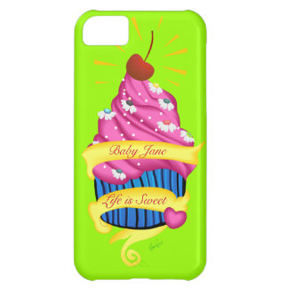 Sweetest Cupcake iPhone 5C Covers