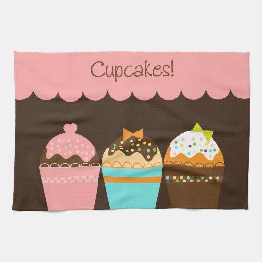 Sweetest Cupcakes Tea Towel