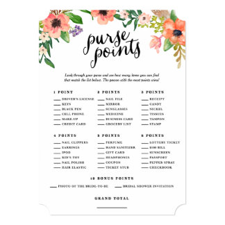 Sweetest Day | Bridal Purse Points Cards