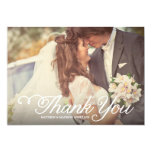 "Sweetest Day | Wedding Thank You Photo Card 5"" X 7"" Invitation Card"