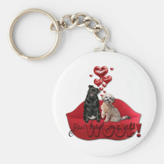Sweetest Day - You Had Me at Woof Keychains