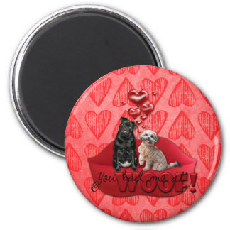 Sweetest Day - You Had Me at Woof Magnet