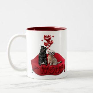 Sweetest Day - You Had Me at Woof Two-Tone Coffee Mug