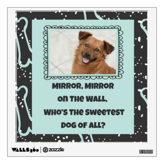 Sweetest Dog of All Custom Photo Wall Decal (B)