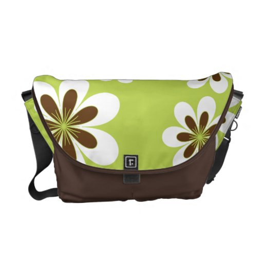 Sweetest Flowers Messenger Bags