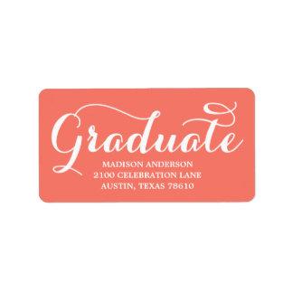 Sweetest Grad | Graduation Address Label