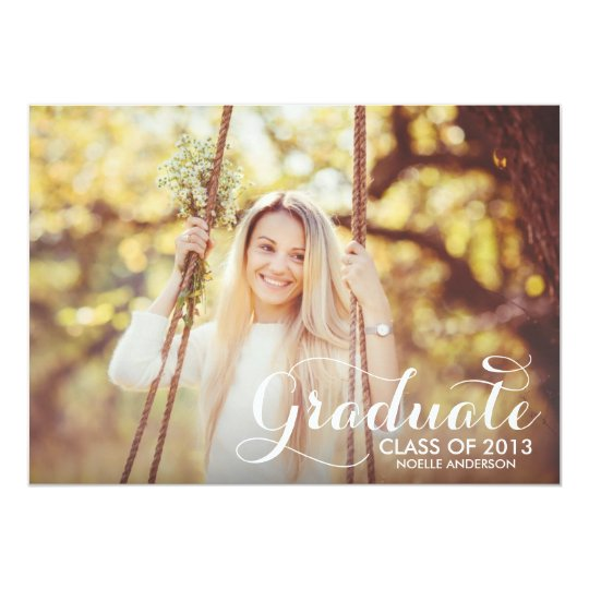 SWEETEST GRAD | GRADUATION INVITATION