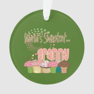 Sweetest Granny Ornament
