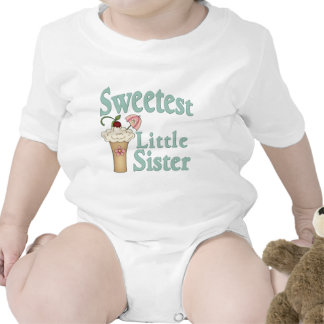 Sweetest Little Sister Malt Tee Shirts