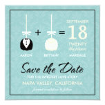 Sweetest Love Cakepop Modern Save the Date Personalized Invite
