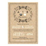 Sweetest Love Cakepop Modern Wedding Invite