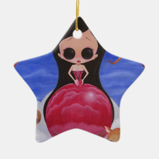 Sweetest of them all ceramic ornament