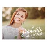 Sweetest Script | Graduation Postcard Invitation
