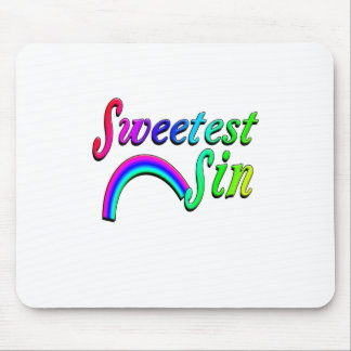 Sweetest Sin Rainbow Mouse Pads