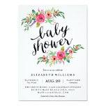 floral, flowers, modern, pretty, hand lettering,