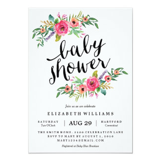 High Quality Sweetest Summer Baby Shower Invitation