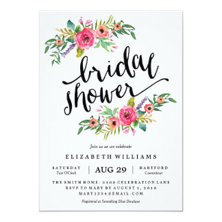 Sweetest Summer Bridal Shower Invitation