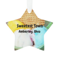 """Sweetest Town"" Design For Amberley, Ohio Ornament"