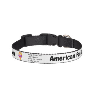 """Sweetest Town"" Design For American Falls, Idaho Pet Collar"
