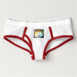 """Sweetest Town"" Design For Angier, North Carolina Briefs - Feminine Twist On Men's Underwear"