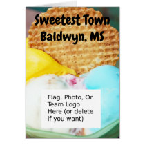 """Sweetest Town"" Design For Baldwyn, Mississippi"