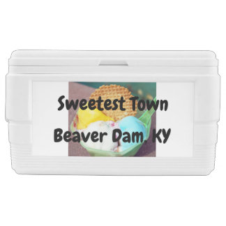 """Sweetest Town"" Design For Beaver Dam, Kentucky Chest Cooler"