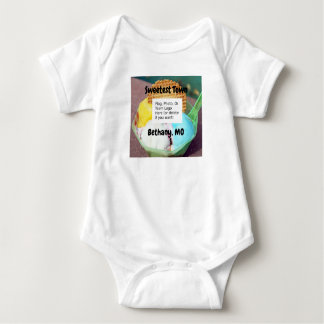 """Sweetest Town"" Design For Bethany, Missouri Baby Bodysuit"
