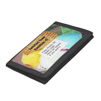 """""""Sweetest Town"""" Design For Danielson, Connecticut Trifold Wallet"""