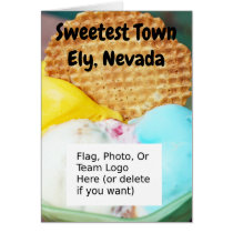 """Sweetest Town"" Design For Ely, Nevada"