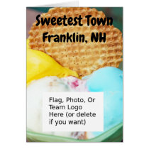 """Sweetest Town"" Design For Franklin, New Hampshire"