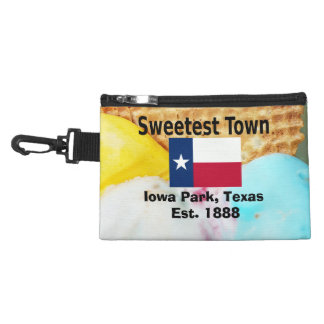 """""""Sweetest Town"""" Design For Iowa Park, Texas Accessory Bag"""