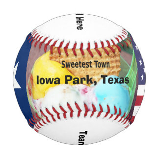 """Sweetest Town"" Design For Iowa Park, Texas Baseball"