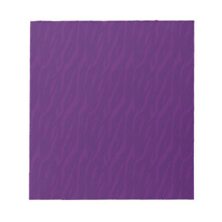Sweetest Wife-To-Be Purple Zebra Print Gift Item Notepad