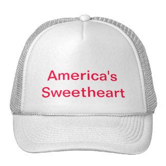 Sweethaart de América Gorras De Camionero