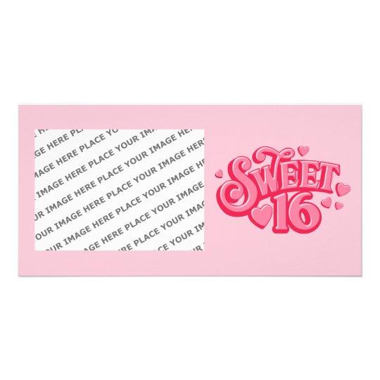 Sweetheart 16 card