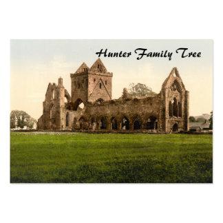 Sweetheart Abbey, Dumfries, Scotland Business Card Template