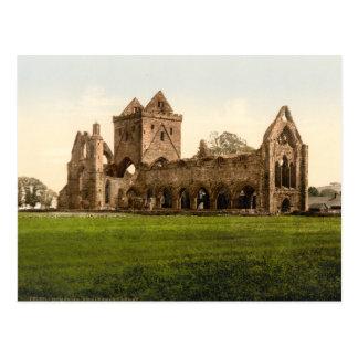 Sweetheart Abbey, Dumfries, Scotland Postcard