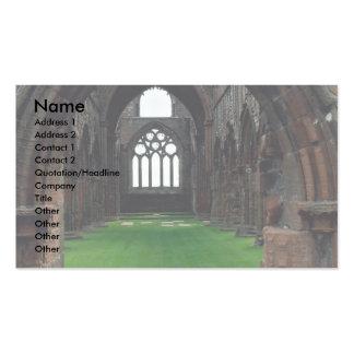 Sweetheart Abbey, New Abbey, Sumfriesshire, Scotla Business Card