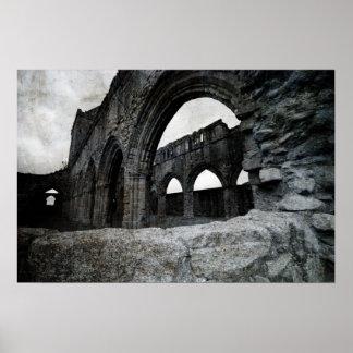 Sweetheart Abbey - Scotland - Poster